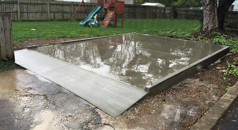 shed slab concrete workers in Kenosha, WI